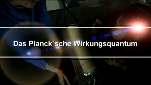 Plancksches Wirkungsquantum