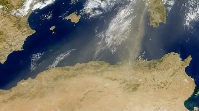 Wüstensand - Faktor X fürs Klima