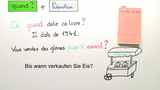 """Ergänzungsfragen: """"où"""", """"quand"""" und """"comment"""""""