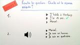 Ergänzungsfragen (Übungsvideo 2)