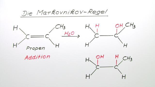 Die Markovnikov - Regel