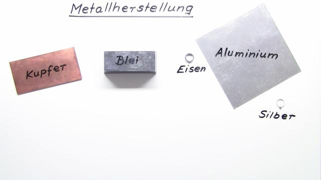 Metallherstellung