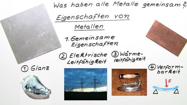 Eigenschaften von Metallen