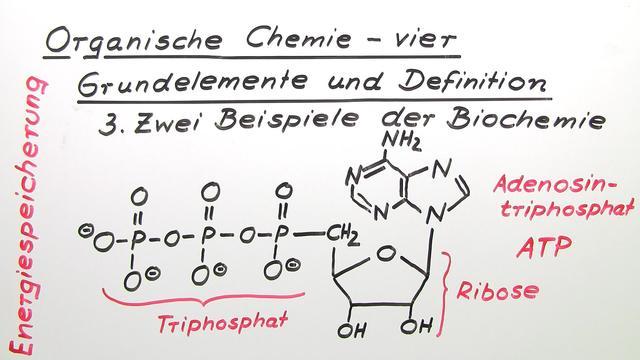 Organische Chemie – vier Grundelemente und Definition