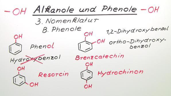 Alkanole und Phenole