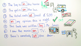 Prepositional Phrases (Übungsvideo 2)