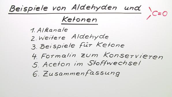 Vorschaubild 390 m112 beispiele von aldehyden und ketonen