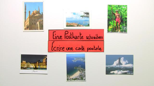 Wie schreibt man eine Postkarte?