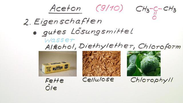 Aceton (Basiswissen)