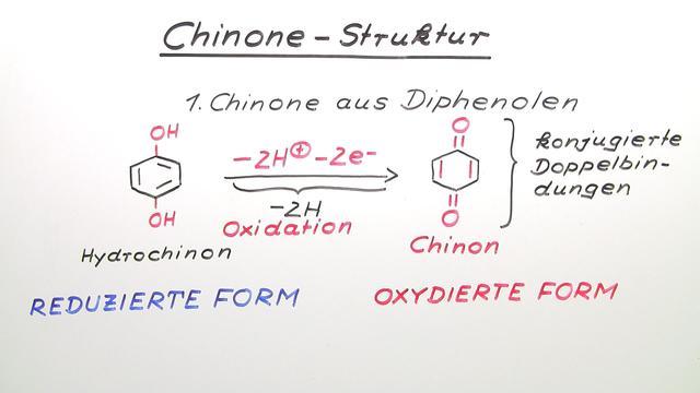 Chinone – Struktur