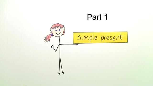 Simple Present (Übungsvideo 1)