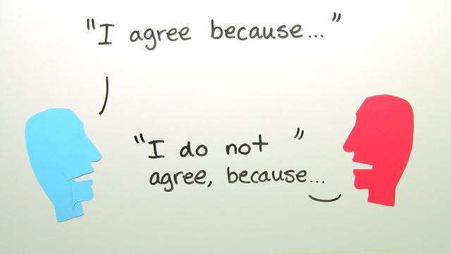 Expressing an Opinion – Wie drückt man seine Meinung aus?