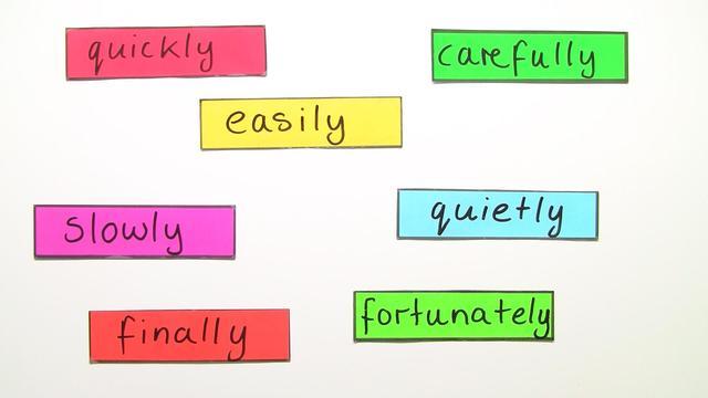 Adverbs Of Manner Englisch Einfach Erklärt Inkl übungen