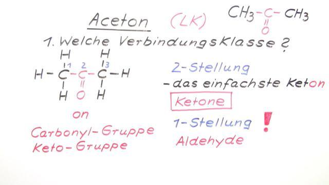Aceton (Expertenwissen)