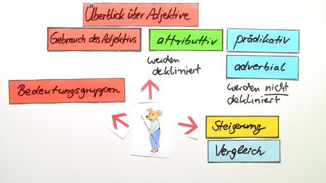 Adjektive – Überblick