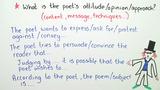 Poetry Analysis – Wie analysiere ich ein Gedicht?