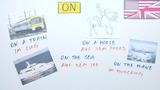 Prepositions of place: at, in, on