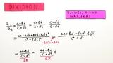 Rechnen mit komplexen Zahlen 3 - Division von komplexen Zahlen