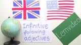 Infinitive – nach Adjektiven
