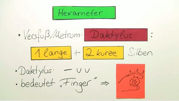 Metrik – Hexameter