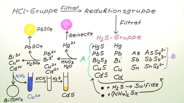 Nachweise der Schwefelwasserstoff-Gruppe (1)