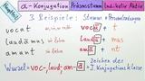a-Konjugation – Präsensstamm