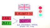 to be allowed to – Erlaubnis und Verbote erteilen