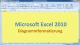 Lektion 13 Excel 2010 Diagrammformatierung