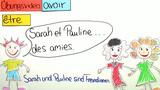 """Konjugation der Verben """"être"""" und """"avoir"""" (Übungsvideo)"""