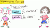 Substantive – grammatisches Geschlecht