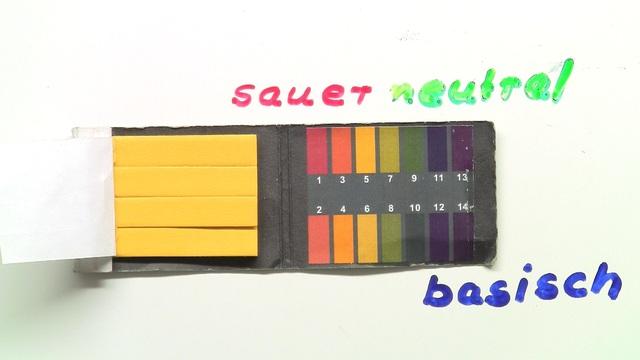 Messung von pH - Werten