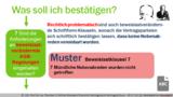 VR 3.7.10 (8) Was ist bei Formanforderungen zu beachten, die die Vertragsparteien vereinbart haben?