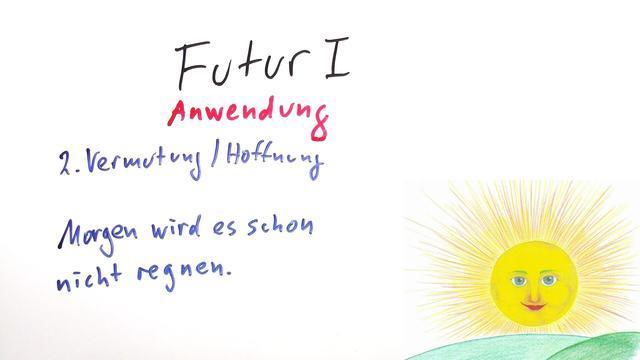 Futur I und Futur II