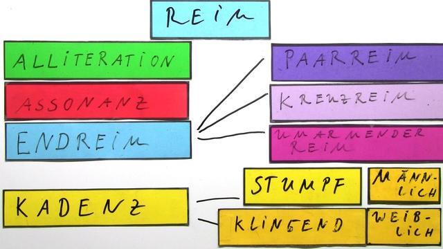 Arten des Reims