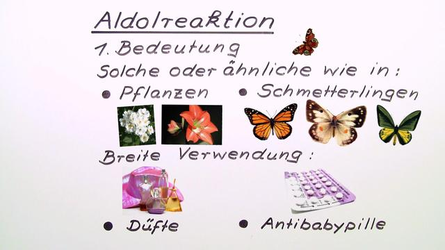 Mechanismus der Aldolreaktion