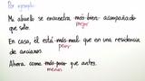 Steigerung und Vergleich von Adverbien