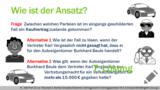 VR 4.5.8 Wie funktioniert das Prinzip der Stellvertretung im Vertragsrecht? Lösung 1