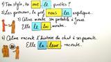 Direktes und indirektes Objektpronomen – Vergleich (Übungsvideo)