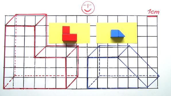Schraegbilder zusammengesetzte koerper