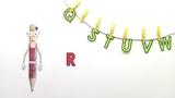 Einführung des Buchstaben R