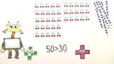 Zehnerzahlen vergleichen und ordnen – Übung
