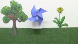 Ein Windmühlenmodell basteln