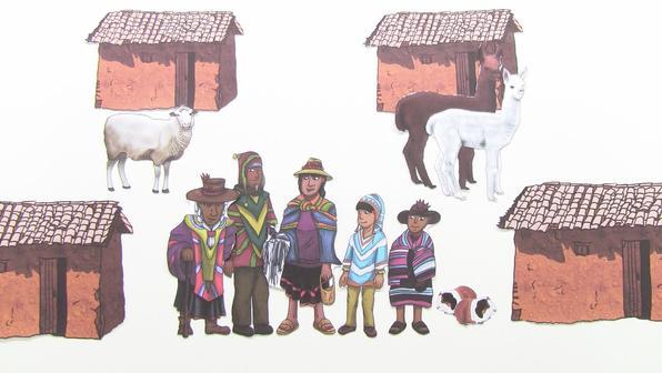 Der Alltag eines Kindes aus Peru