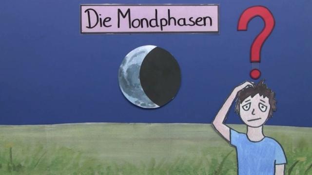 Mondphasen – Warum sieht man den Mond manchmal nur halb?