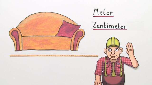 Zentimeter und Meter – Übung