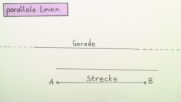Parallele Linien