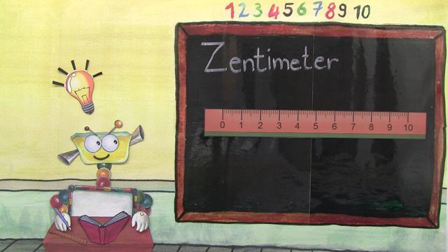 Millimeter und Dezimeter