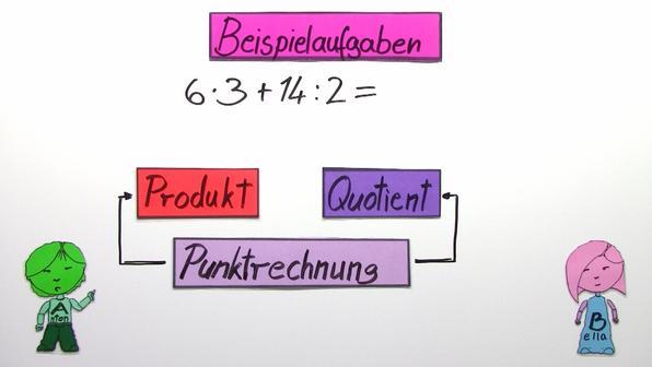 Punkt-vor-Strich-Regel (Übungsvideo)