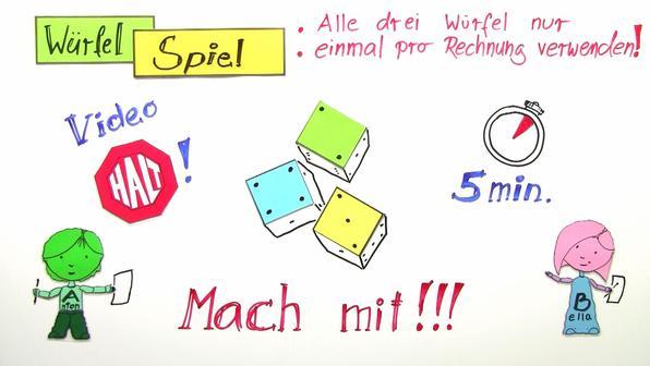 Punkt-vor-Strich-Regel und Klammern-zuerst-Regel (Übungsvideo)