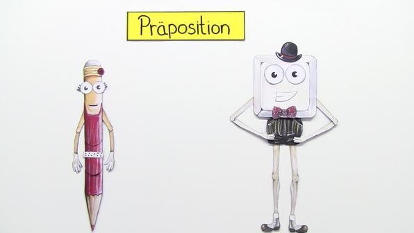 Verhältniswörter (Präpositionen) kennenlernen